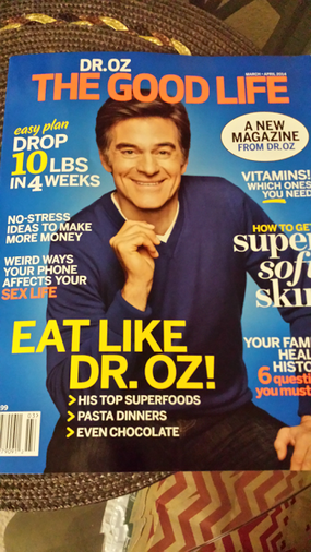 Louida Martin Featured in Dr. Oz The Good Life Magazine Debut Issue