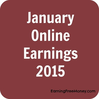 January Online Earnings 2015 via www.earningfreemoney.com