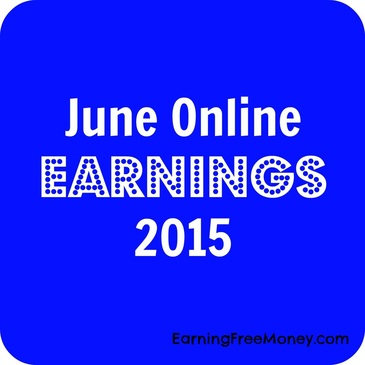 June Online Earnings 2015  via  www.earningfreemoney.com