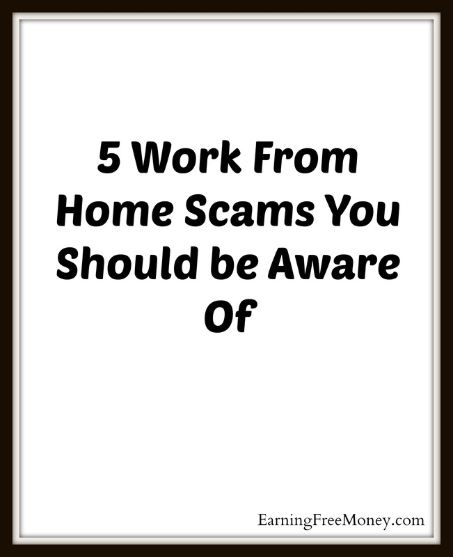 5 Work from Home Scams You Should Be Aware Of